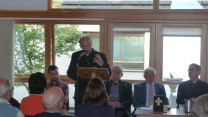 Pilgrims & Prophets Bishop Phonsie Cullinan launches book