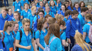 Section of Youth 2016 Pilgrimage